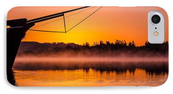 Coos Bay Sunrise II Phone Case by Robert Bynum