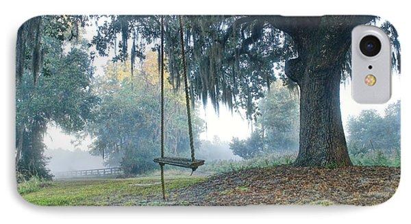 Coosaw Tree Swing IPhone Case by Scott Hansen