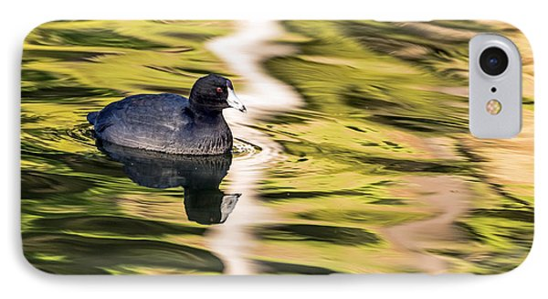 Coot Reflected IPhone Case