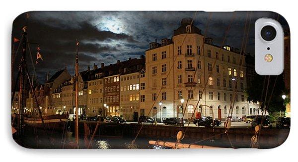 Copenhagen At Night IPhone Case