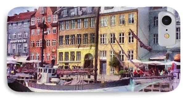 Copenhagen IPhone Case by Jeff Kolker