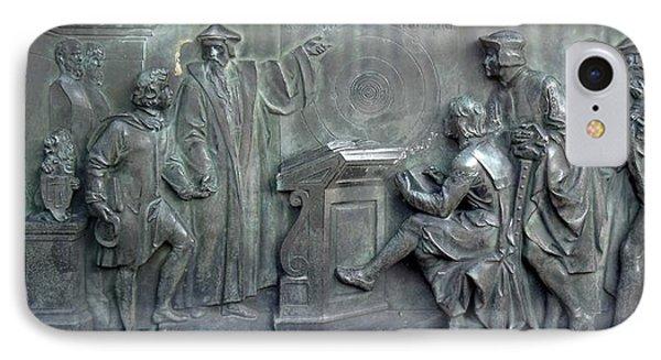 Copernicus Presenting His Theory IPhone Case by Detlev Van Ravenswaay