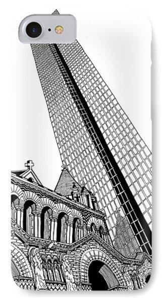Copley Square - Boston IPhone Case