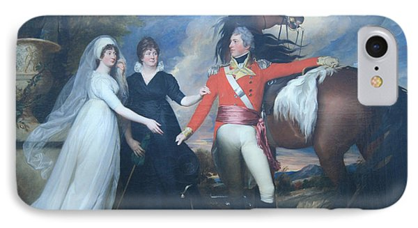Copley's Colonel William Fitch And His Sisters Sarah And Ann Fitch IPhone Case by Cora Wandel