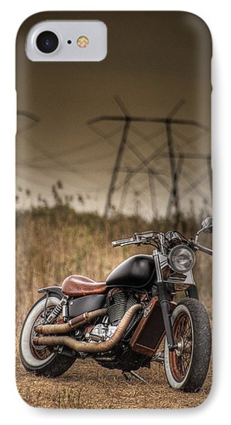 Copper Chopper IPhone Case by Bradley R Youngberg
