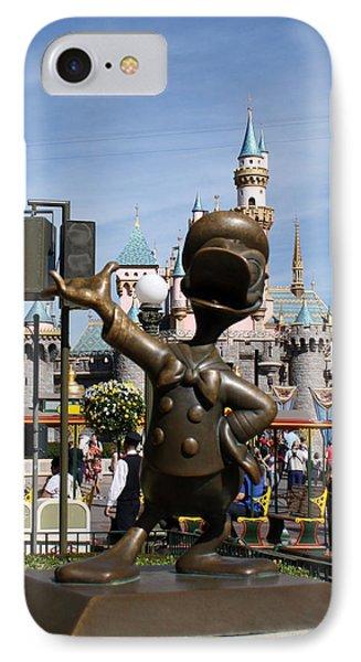 Copper Donald Phone Case by David Nicholls