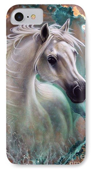 Copper Grace - Horse IPhone Case by Sandi Baker