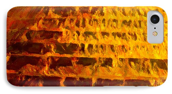 IPhone Case featuring the digital art Copper Hoppers by Chuck Mountain