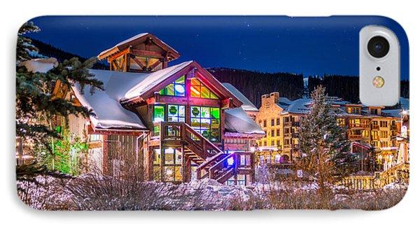 Copper Mountain Pub IPhone Case by Michael J Bauer