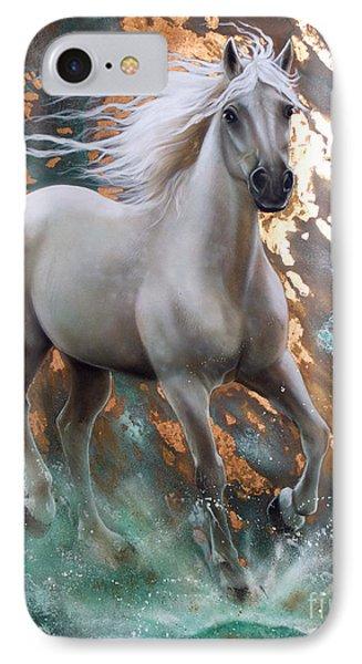 Copper Sundancer - Horse IPhone Case by Sandi Baker