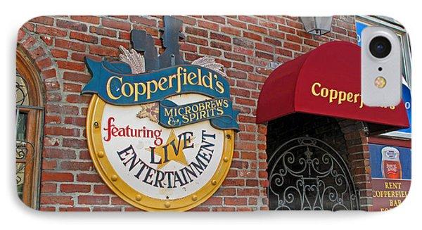 Copperfields Phone Case by Barbara McDevitt