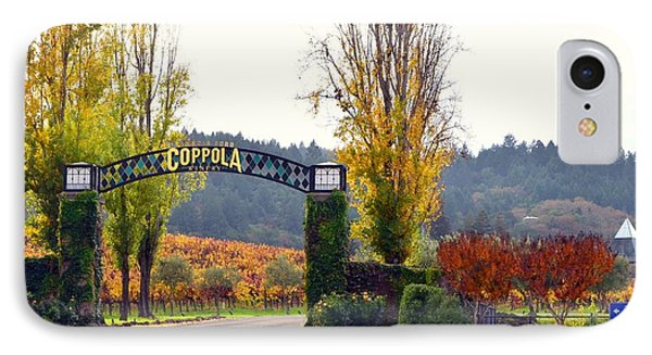Coppola Winery Sold IPhone Case by Antonia Citrino
