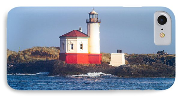IPhone Case featuring the photograph Coquille Lighthouse by Dennis Bucklin