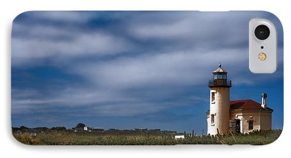 Coquille River Lighthouse Phone Case by Joan Carroll