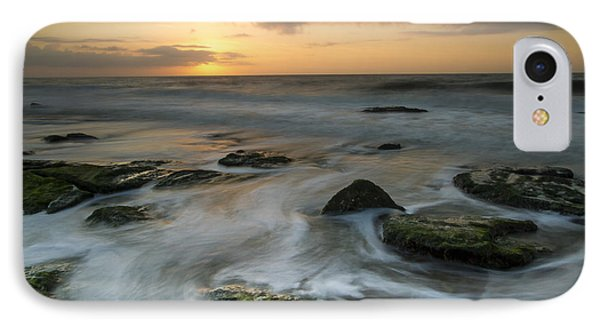 IPhone Case featuring the photograph Coquina Rock Sunrise by Doug McPherson