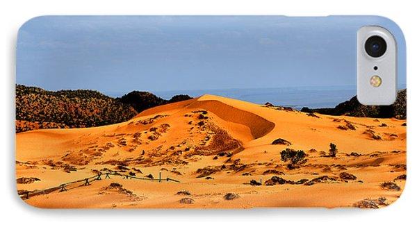 Coral Pink Sand Dunes Utah Phone Case by Christine Till