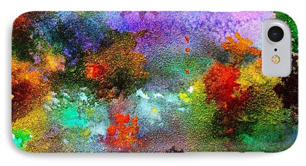 Coral Reef Impression 1 IPhone Case by Hazel Holland