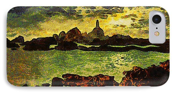 Corbiere Lighthouse Phone Case by Unknown