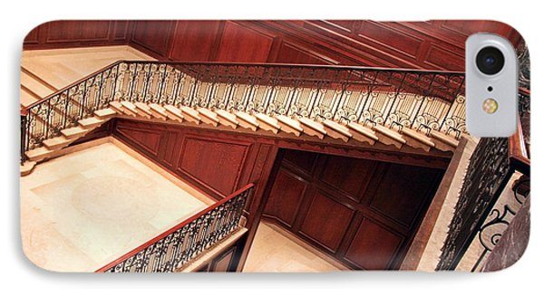 Corcoran Gallery Staircase IPhone Case by Cora Wandel