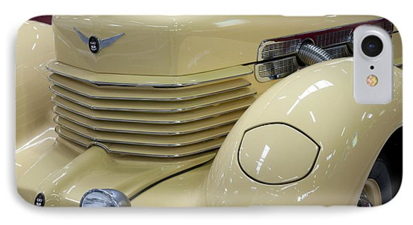 Cord 812 Oldtimer From 1937 Front IPhone Case