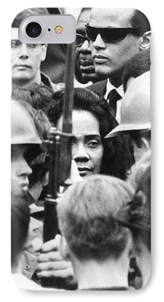 Coretta King & Harry Belafonte IPhone Case by Underwood Archives