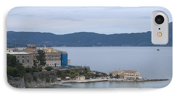 Corfu City 4 IPhone Case by George Katechis