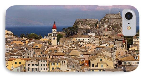 Corfu Town Phone Case by Brian Jannsen