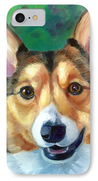 Corgi Smile IPhone Case