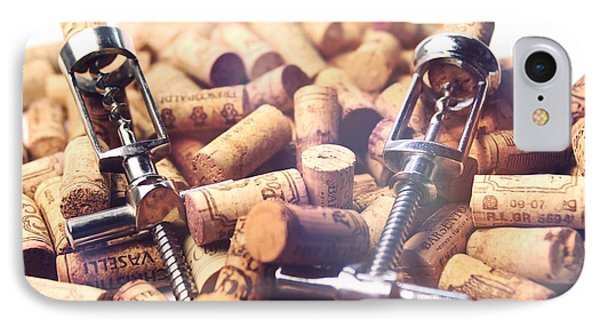 Corks And Corkscrews  Phone Case by Stefano Senise