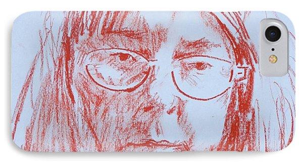 Corliss' Portrait IPhone Case by PainterArtist FINs husband Maestro