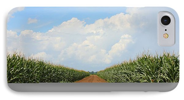 Corn Crops Of Ms IPhone Case