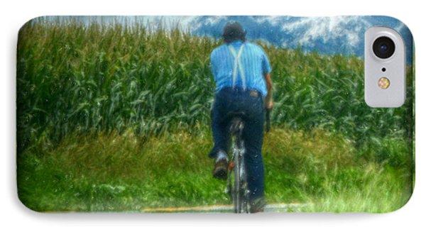 Corn Fields IPhone Case by Trish Tritz