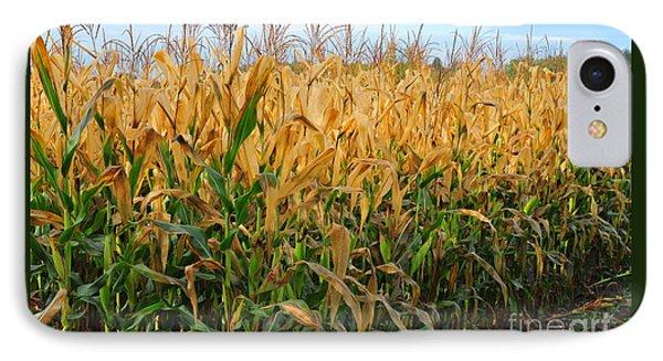 Corn Harvest Phone Case by Terri Gostola