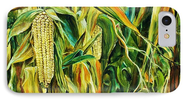 Spirit Of The Corn IPhone Case by Anna-maria Dickinson