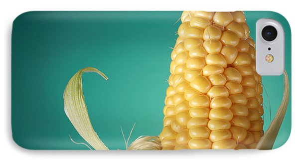 Corn On The Cob Phone Case by Sharon Dominick