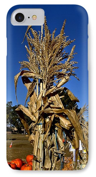 IPhone Case featuring the photograph Corn Stalk by Michael Gordon
