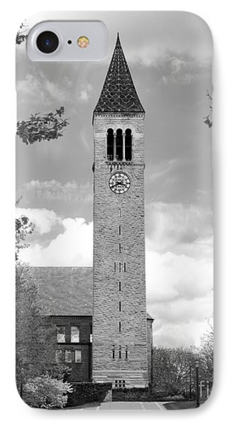 Cornell University Mc Graw Tower IPhone Case by University Icons