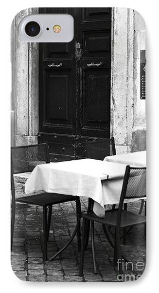 Corner Table Phone Case by John Rizzuto