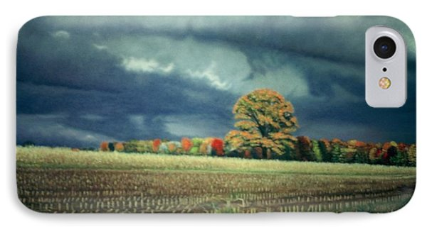 Cornfield On Argentine Road Phone Case by James Welch