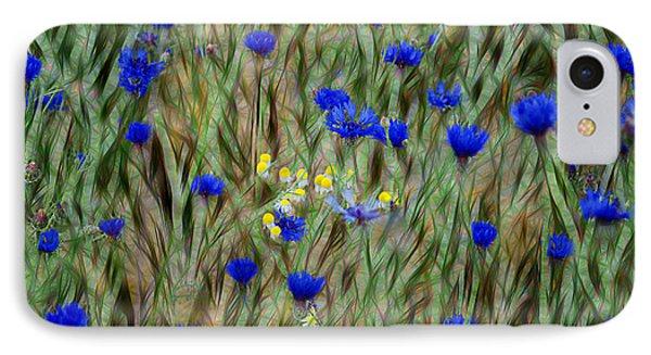 Cornflowers IPhone Case