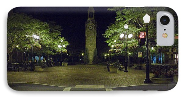 IPhone Case featuring the photograph Corning Clock Tower by Tom Doud