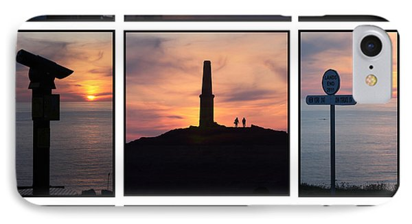 IPhone Case featuring the photograph Cornish Sunsets by Terri Waters