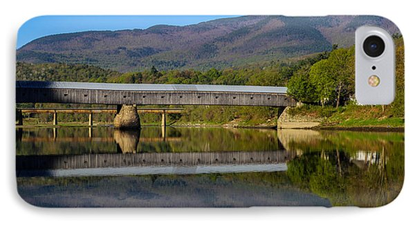 Cornish Windsor Covered Bridge IPhone Case by Edward Fielding