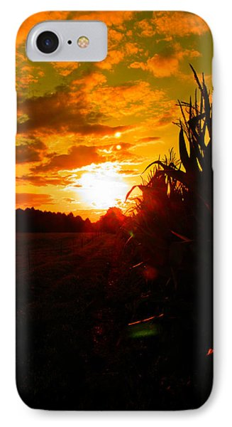 Cornset IPhone Case by Nick Kirby