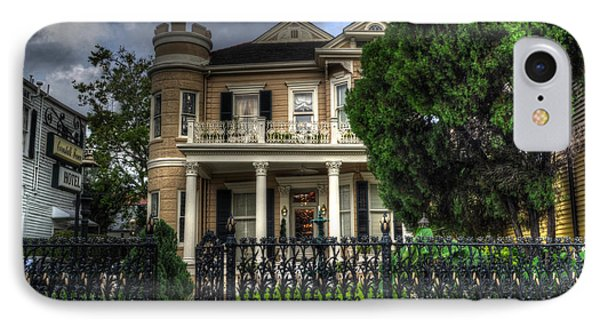 Cornstalk Fence Hotel Phone Case by Greg and Chrystal Mimbs
