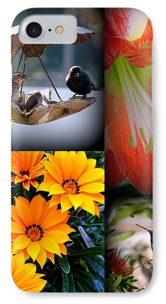 Cornucopia Garden IPhone Case by Priscilla Richardson
