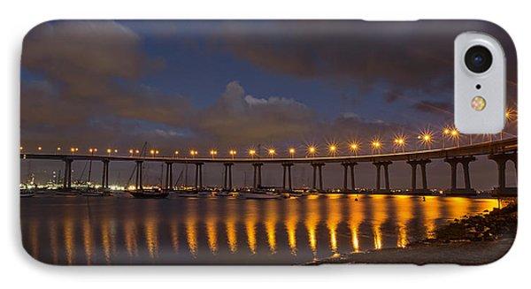 Coronado Bridge IPhone Case by Peter Tellone