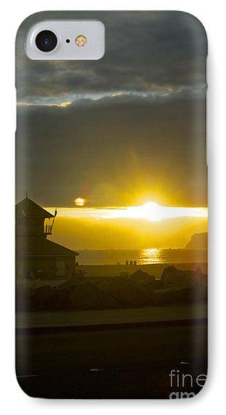 Coronado's Beach At Sunset IPhone Case by Claudia Ellis