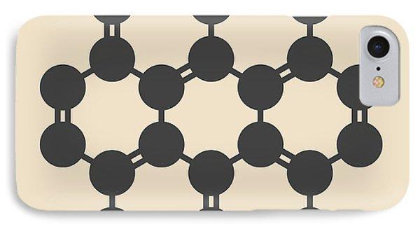 Coronene Hydrocarbon Molecule IPhone Case
