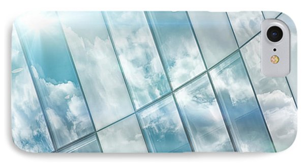 Corporate Flare Reflection Phone Case by Antony McAulay